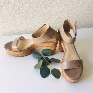 Calvin Klein Odina Platform Sandals Size 9 1/2
